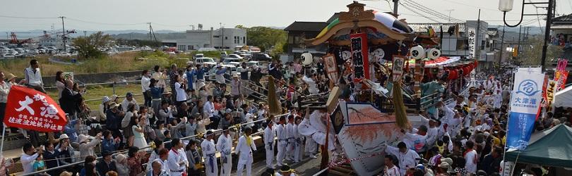 常陸大津の御船祭